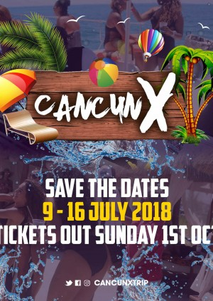 Cancun X - Events Only [Deposit]
