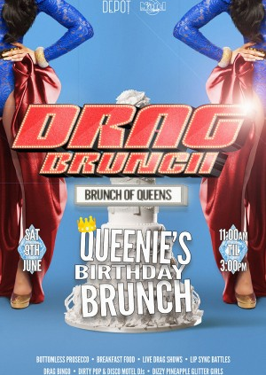Drag Brunch 24 hour tickets