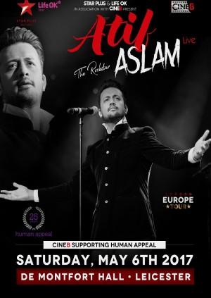 Atif Aslam Live - Leicester