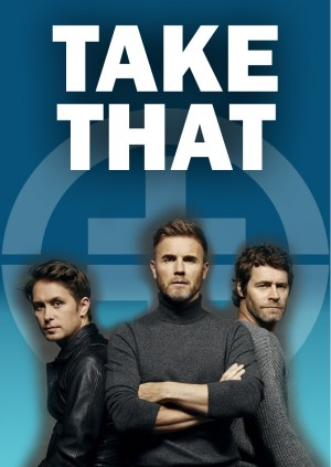 TAKE THAT LIVE @ BLACKBURN HALL, ROTHWELL