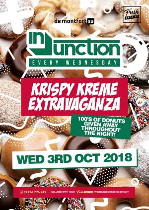 Injunction Krispy Kreme Giveaway