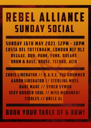 Rebel Alliance Sunday Social on The Terrace