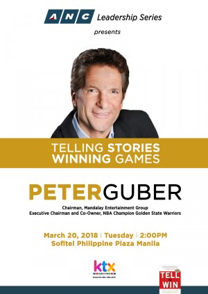 ANC Leadership Series presents Telling Stories, Winning Games Peter Guber