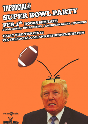 THE SOCIAL SUPER BOWL PARTY