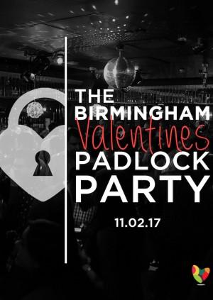 The Birmingham Valentines Padlock Party