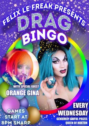Drag Bingo! Valentine's special