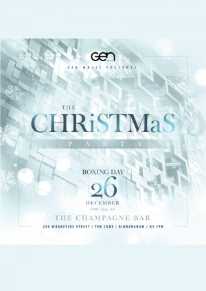 GenMusic Christmas Launch Party