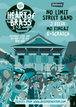 Heart of Brass w/ No Limit Street Band (Live Brass Band)