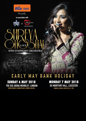 SHREYA GHOSHAL LIVE WITH SYMPHONY ORCHESTRA - London