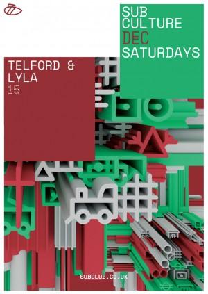 Subculture • Telford • Lyla • Harri & Dom • Sub Club • 15.12.18