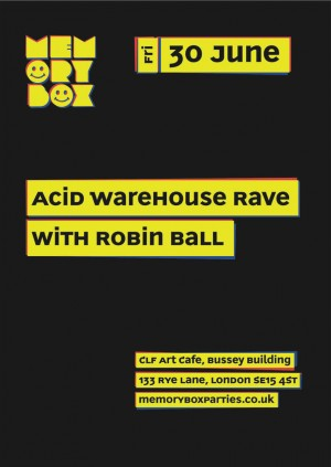Memory Box Acid Warehouse Rave