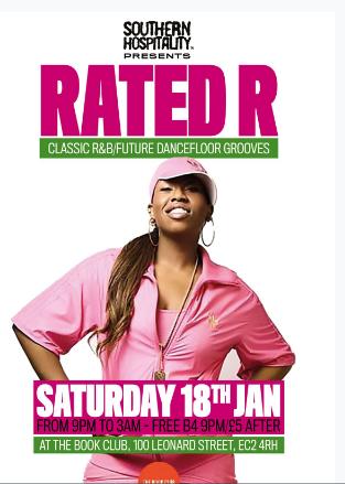 RATED R - Classic R&B/Future Dancefloor Grooves