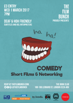 Comedy Short Films & Networking