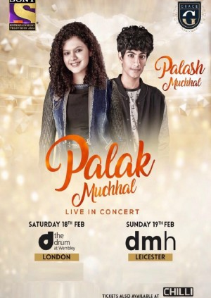 Palak Muchhal - Celebrating 75 years of Lata Mangeshkar, with Palash Muchhal - Leicester