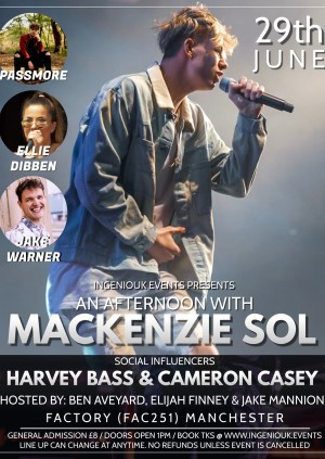 Mackenzie Sol & Guests - IngenioEvents - Buy Tickets