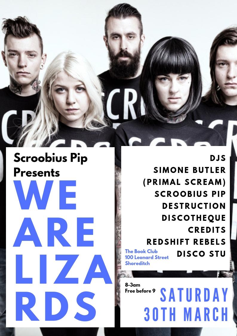 Scroobius Pip Presents We.Are.Lizards