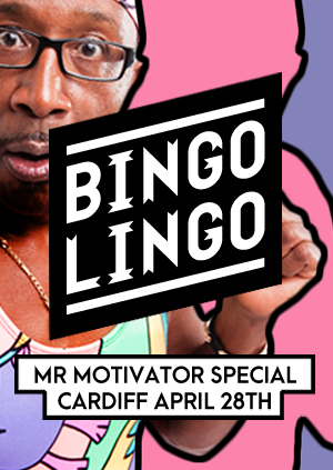 BINGO LINGO: Mr. Motivator Spandex Special