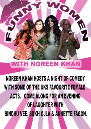 Funny Women With Noreen Khan - Leicester