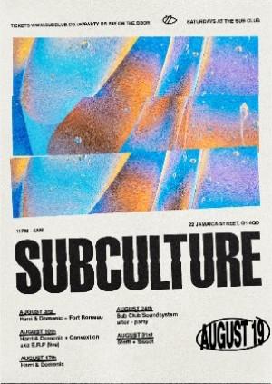 SUBCULTURE • Harri & Domenic