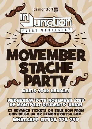 Injunction Movember Stache Party