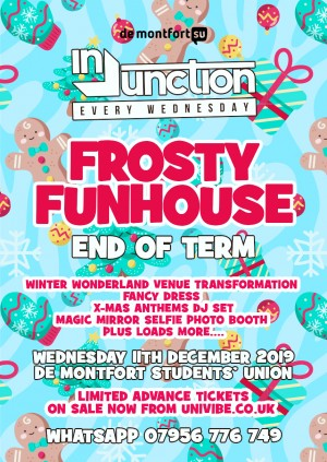 Injunction Frosty Funhouse End of Term