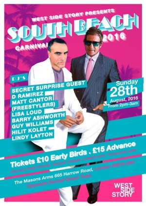 West Side Story Presents South Beach Carnival 2016