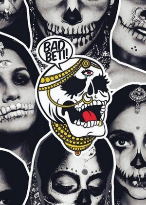 Art Macabre Death Drawing: Bad Beti - Asia with Attitude