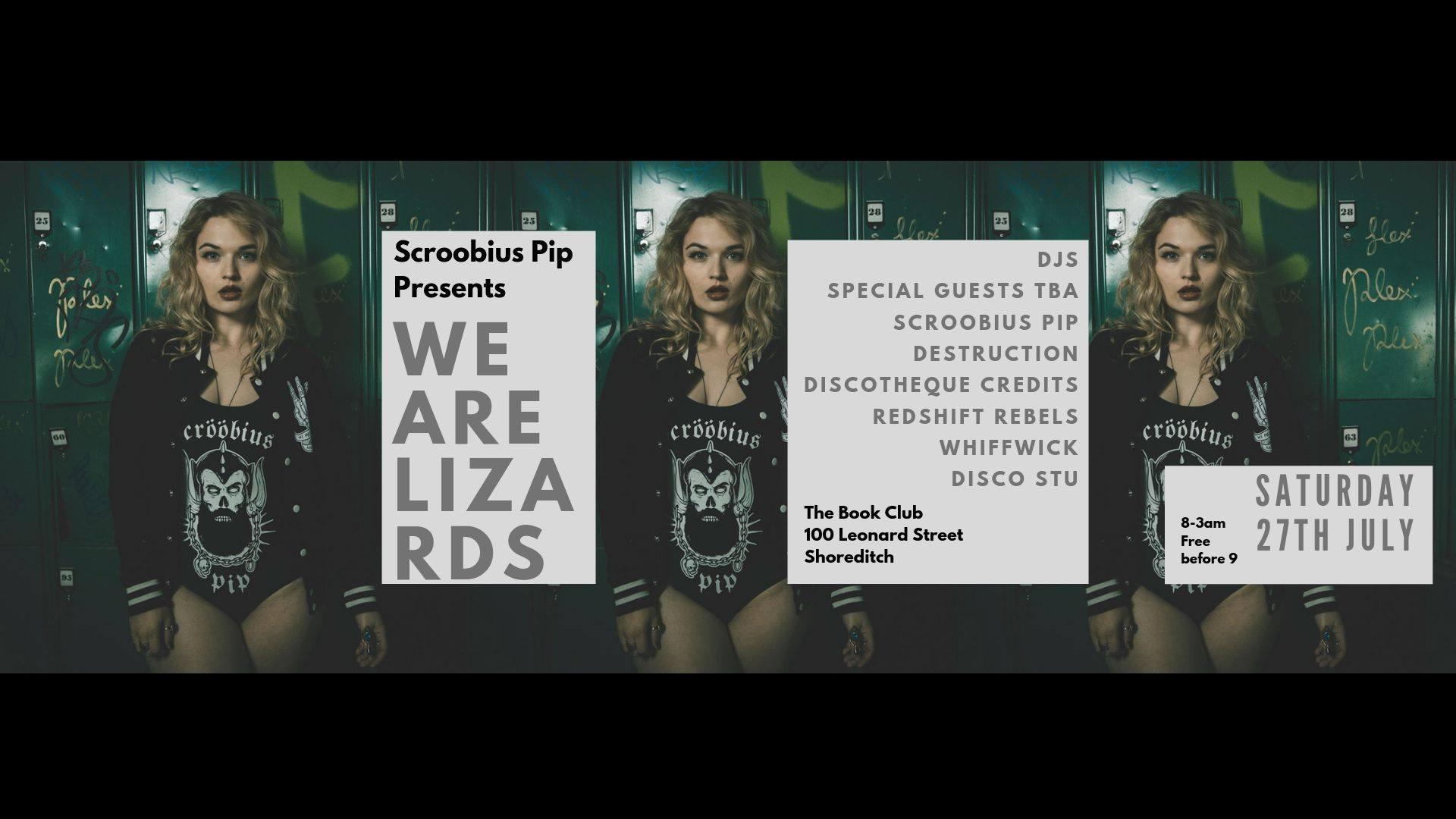 Scroobius Pip Presents We Are Lizards
