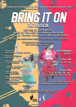Bring It On: The Musical - 3PM