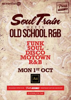 Soul Train meets Old School R&B