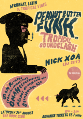 Peanut Butter Funk Tropical Soundclash with Nick XOA