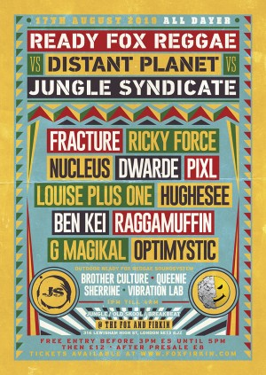 READY FOX REGGAE VS DISTANT PLANET VS JUNGLE SYNDICATE