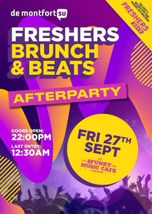Freshers Brunch & Beats Afterparty
