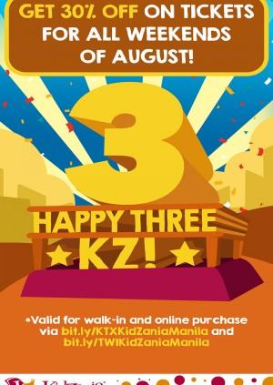 KidZania Manila Weekday Ticket (HOLIDAY)