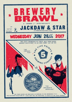 Brewery brawl - Five Points vs Orbit Beers