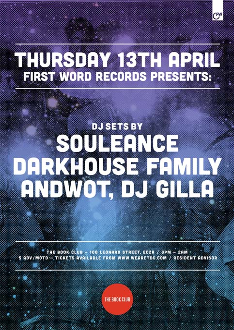 First Word East Thursday Takeover w/ Souleance & Darkhouse Family