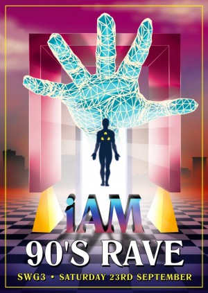 I AM - 90's Rave at SWG3