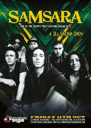 Samsara + DJ Sacha Dieu