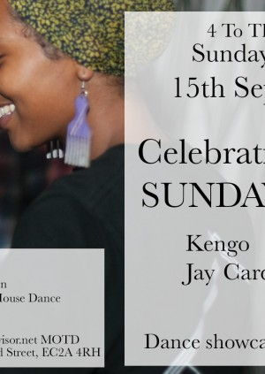 4 To The Floor presents 4 years of Sunday Sessions