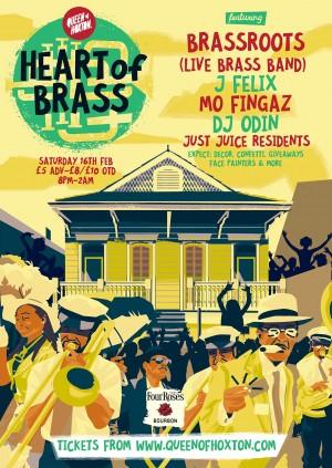 Heart of Brass w/ Brassroots (Live Brass Band)