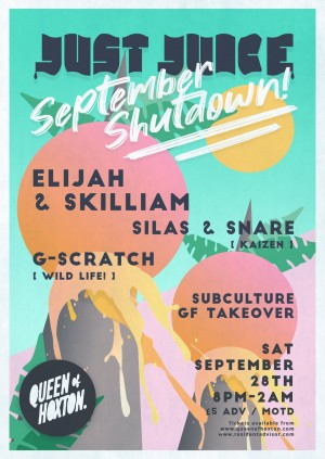 Just Juice September Shutdown w/ Elijah & Skilliam (Butterz)
