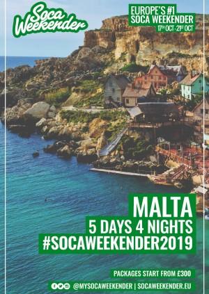 Soca Weekender 2019 : Malta