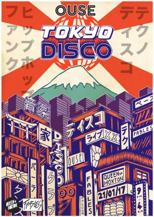 OUSE presents: Tokyo Disco I London Launch Party