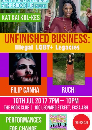 Unfinished Business: Illegal LGBT+ Legacies