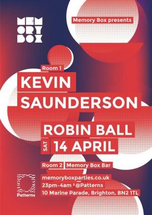 Kevin Saunderson @ Memory Box