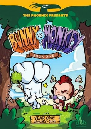 PHOENIXFEST: BUNNIES MIXED WITH MONKEYS: Comic Consequences with Jamie Smart 6+