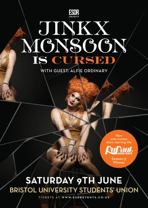 ESDR Bristol presents Jinkx Monsoon is: CURSED
