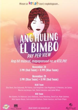 Ang Huling El Bimbo (Blue)