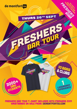 Freshers T-Shirt Bar Tour