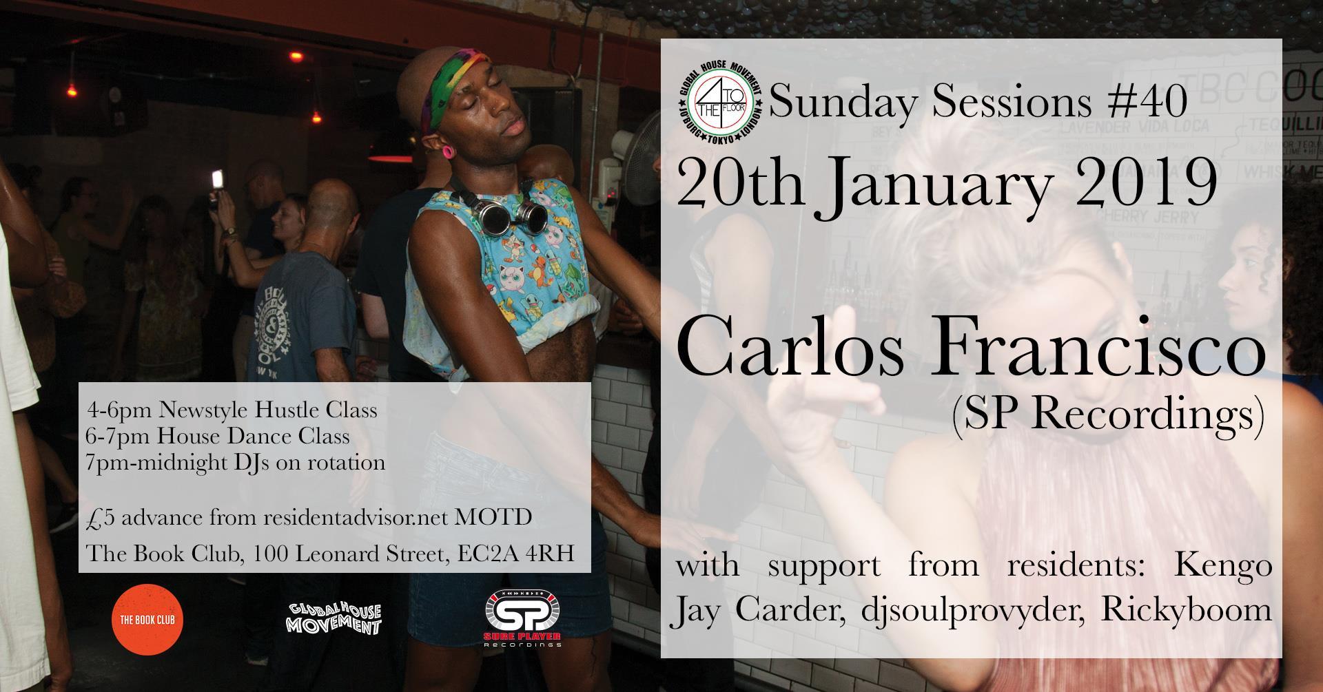 4 To The Floor presents Carlos Francisco (SP Recordings)